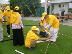 Team building in Bahrain