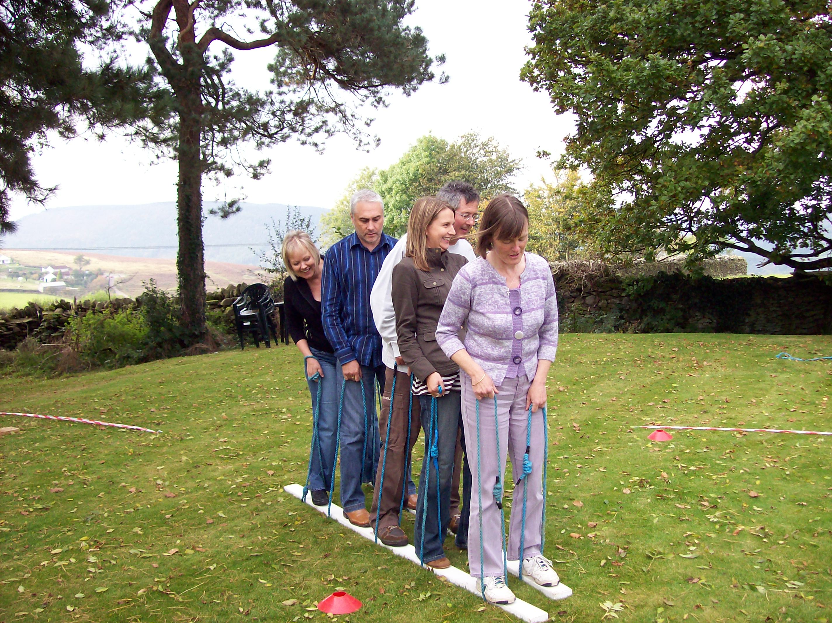 Easy Team Building Games For Adults