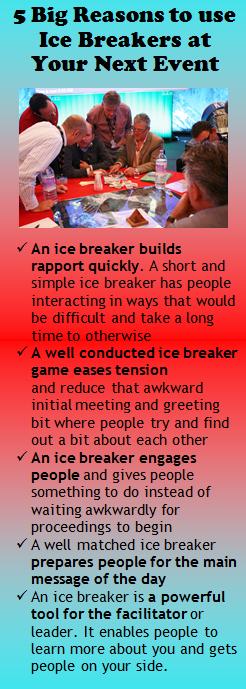 Brilliant ice breakers